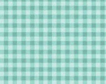 Gingham, Strawberry Honey, C10245, AQUA, Riley Blake, cotton quilt, cotton designer