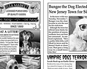 Journal, dog, 6704, Timeless Treasures, cotton, cotton quilt, cotton designer