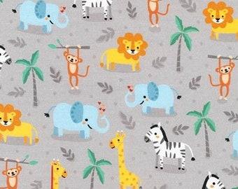Jungle animals, 17350, Robert Kaufman, 100% Cotton