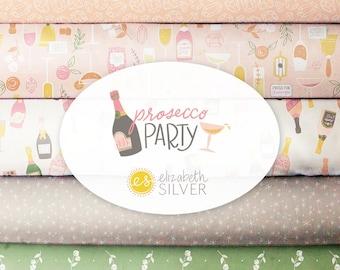 Bundle, 8 motifs, Procesco Party, Camelot Fabrics, quilt cotton, designer cotton