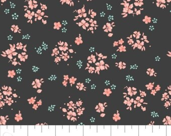 Fabric 100% cotton, Aberdeenshire, 7140804, col 05, CHARCOAL - The Notthingham of Laura Ashley, Camelot fabrics