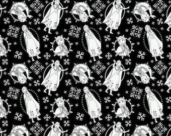 Disney, Reine des Neiges, 85190203, col 02, Frozen Coloring Collection, quilt cotton