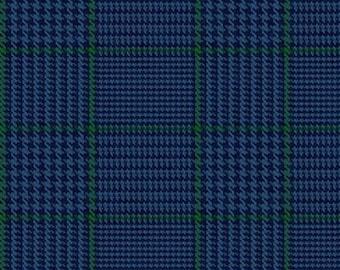 Plaids, Bleu, All About Plaids, 639, Riley Blake, cotton quilt, cotton designer