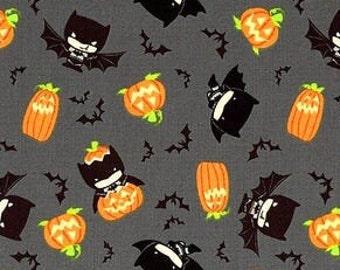 Fabric Halloween, Batman Hawaii, #23421483 - Character Halloween of Camelot Fabrics