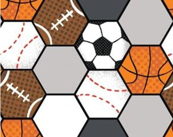 Volleyball, soccer, football, All Star Sports, 61190201, col 02, Camelot Fabrics, cotton, cotton quilt, cotton designer