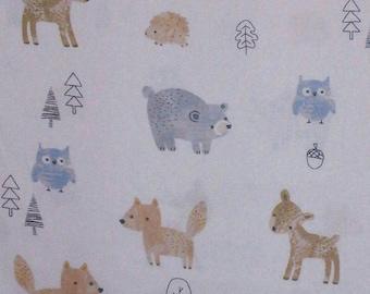 Fabric Animals, 100% cotton, cotton quilt, cotton designer