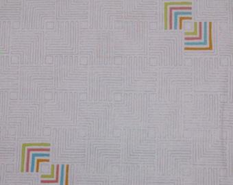 SALE, Windham Fabrics, Fabric Geo, white, 100% cotton, cotton quilt, cotton designer