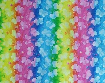 Butterfly, Rainbow, 100% cotton, cotton quilt, cotton designer