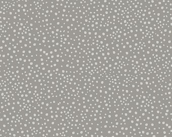 Fabric Dot gray, Benartex, #06829, 100% cotton, cotton quilt, cotton designer