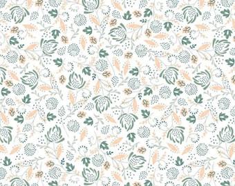 SALE, Flower, 21180304, col 01, Beachside Pretty, Oceanic Garden, Camelot Fabrics, cotton, cotton quilt, cotton designer, (Reg 3.76-21.91)