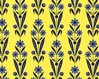 Bouquet Yellow, Somerset, 6791, col 33, Benartex, cotton, cotton quilt, cotton designer