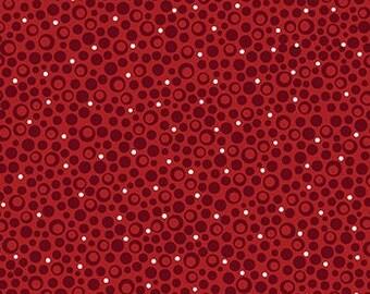 Starry Sky Red, Celestial Lights, 9639P, 10, Benartex, 100% cotton, cotton quilt, cotton designer