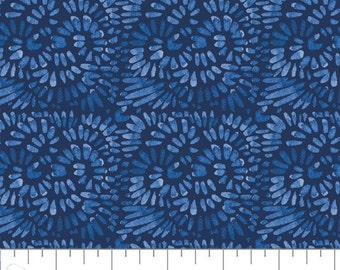 Classic Blue, Express Yourself, 55200102, col 02, Camelot Fabrics, 100% Cotton