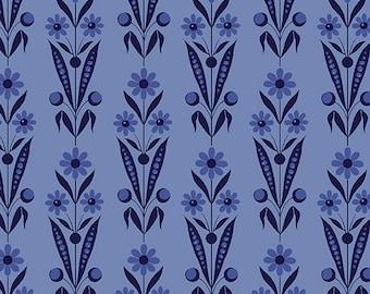 Bouquet Blue, Somerset, 6791, col 50, Benartex, cotton, cotton quilt, cotton designer