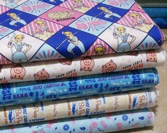 Bundle, 5 prints, Toy Story of Camelot Fabrics, Quilt cotton
