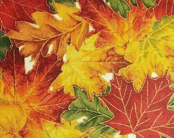 Leaf, gold, Fashion Fabrics, CM4894, cotton, cotton quilt, cotton designer
