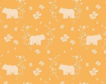 Bear, Strawberry Honey, C10243, CREAMSICLE, Riley Blake, cotton quilt, cotton designer