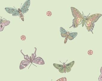 Butterfly, 9260, EG,  Andovers, 100% Cotton, quilt cotton, designer cotton