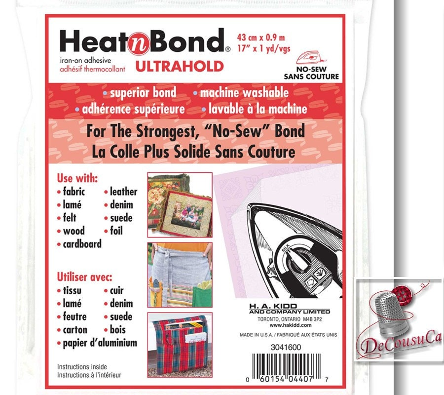 Heatnbond Ultra Or Lite Hold Iron On Adhesive By The Yard