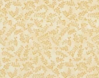 Leaf, biscotti, Harvest Berry, Benartex, 07563, col 70, cotton, cotton quilt, cotton designer