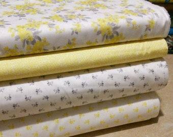 SALE, Bundle, 4 prints, Summer Blooms of Camelot Fabrics, Quilt cotton, (Reg 15.04-77.96)