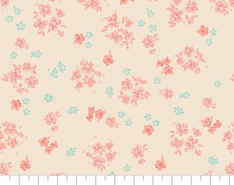 Fabric 100% cotton, Aberdeenshire, 7140804, col 06, CREAM - The Notthingham of Laura Ashley, Camelot fabrics