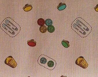 SALE, Button, Bek Mod, Peppy Studio, 100% coton