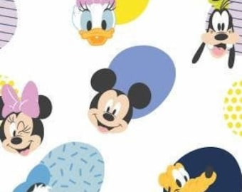 Minnie Mouse, MM Hello Memphis, 85271018, 01, Mickey Mouse Play All Day of Camelot Fabrics