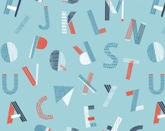 Lettres, Nautical, Camelot Fabrics, 89190609, col 02, cotton, cotton quilt, cotton designer