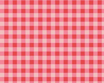 Gingham, Strawberry Honey, C10245, RED, Riley Blake, cotton quilt, cotton designer
