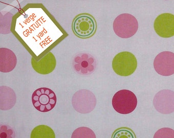 Fabric Dots, 100% cotton, cotton quilt, cotton designer. Comes WITH tracking code