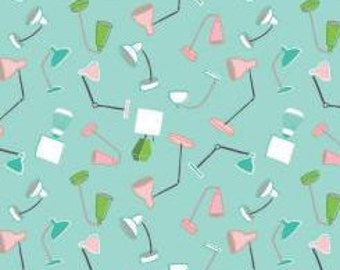 Fabric Git Lit Toss, 60210104, 02, TURQUOISE - Home Office of Camelot Fabrics