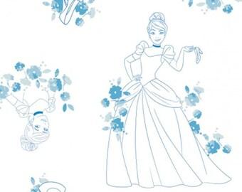 Disney Forever, Princess, Cendrillon, 85100517, col 01, Camelot Fabrics, cotton, cotton quilt, cotton designer