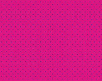 Spot, FUSCHIA/navy, 830, Makower, cotton, cotton quilt, cotton designer