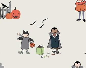 Halloween, EGG SHELL, #10570, fabric, cotton, quilt cotton- Spooky Hallow de Riley Blake