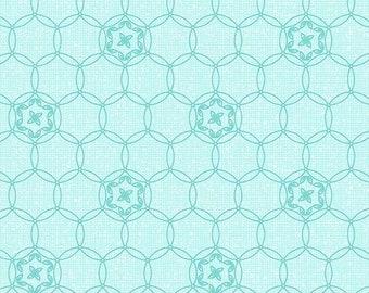 Daisy Chain, Aqua, 01818, 24, Benartex, cotton, cotton quilt, cotton designer