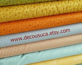 Bundle, 8 motifs, Forest, Makower, quilt cotton, designer cotton