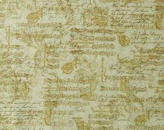 Musical note, musical instrument, All that Jazz, 15899, Robert Kaufman, cotton, cotton quilt, cotton designer