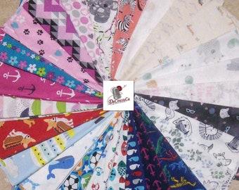 Bundle of 26 prints, Joann Fabrics, quilt cotton