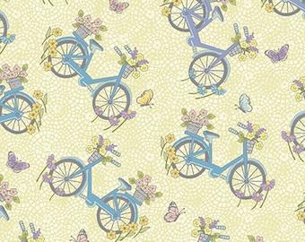 Bike, Butterfly Garden, 6361, col 30, Benartex