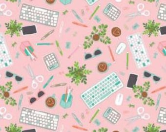 Fabric keyboard, 60210105, 02, PINK - Home Office of Camelot Fabrics