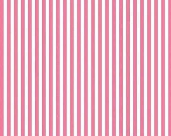 Stripe, pink and white, 495, Riley Blake, cotton, cotton quilt, cotton designer