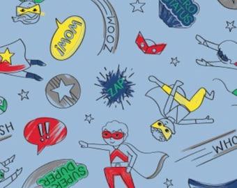 Hero Boy, 27180502, Half-Pint Heroes, Camelot Fabrics, cotton, cotton quilt, cotton designer