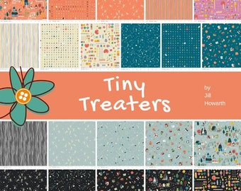 Bundle, 21 prints, HALLOWEEN, bone, candy, Tiny Treaters, Riley Blake, (Reg 78.96-409.29)