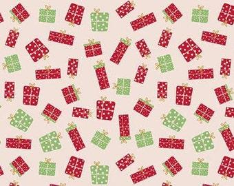 Christmas Adventure, Riley Blake Designs, Christmas fabric 100% cotton, gift, #10734 BALERINA