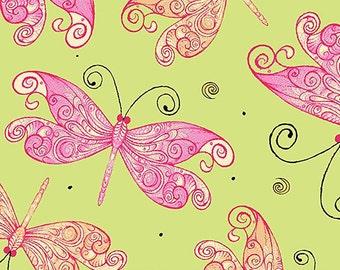 Butterfly, Aziza, Quilting Treasures, 1649, 26693, cotton, cotton quilt, cotton designer, (Reg 3.76-21.91)