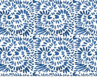 Classic Blue, Express Yourself, 55200102, col 01, Camelot Fabrics, 100% Cotton