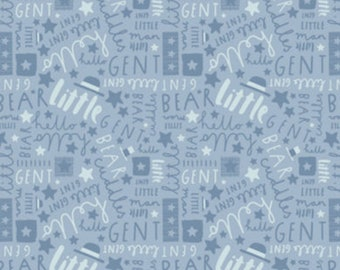 Whiting, blue, 21185503, col 01, Big Bear Cuddles, Camelot Fabrics, 100% Cotton