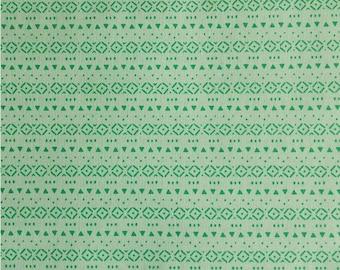 SALE, Tini Tribal, seafoam, 21180906, col 03, Peek-A-Boo, Camelot Fabrics, 100% Cotton, (Reg 3.76-21.91)