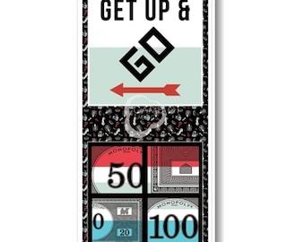 "Monopoly, Go, 18""X44"", 95070105P-01, Hasbro, Gaming, Camelot Fabrics"